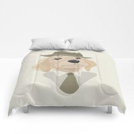 Working retriever Comforters