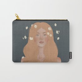 Growing Daisies | Original Drawing Carry-All Pouch