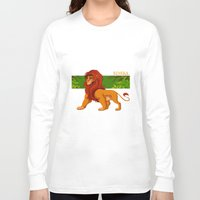 simba Long Sleeve T-shirts featuring Simba, the lion king by lulu555