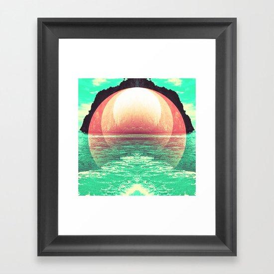 Esotic Island Framed Art Print