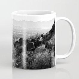 Climbing Camelback Coffee Mug