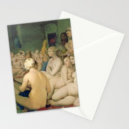 Le Bain turc / The Turkish bath (1862) Stationery Cards