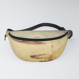The path that hugs the beach Fanny Pack
