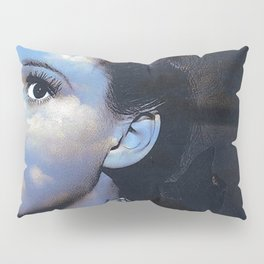 Judy in Clouds I Pillow Sham