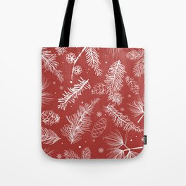 Festive Holiday Season Tote Bag