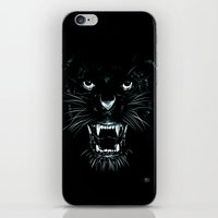 beast iPhone & iPod Skins featuring Beast by Giuseppe Cristiano