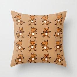 Stickimals - Foxxy Throw Pillow