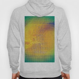 The Love You  Seek Hoody