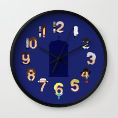 The Number Who Wall Clock