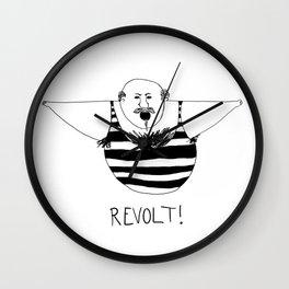 Revolt One Wall Clock