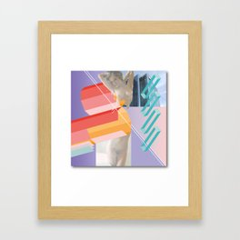 A possible path to technological enlightenment series; plate number one (for Bárbara). Framed Art Print