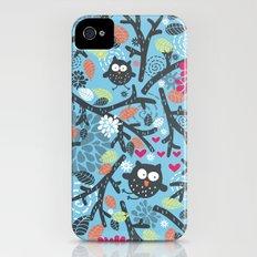Owls. iPhone (4, 4s) Slim Case