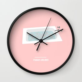PANAM AIRLINES ( Catch Me If You Can ) Wall Clock