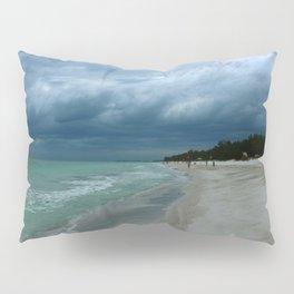 Moody  Sky Over Florida Beach Pillow Sham