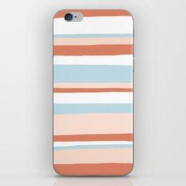 mesa, desert pastel stripes iPhone Skin