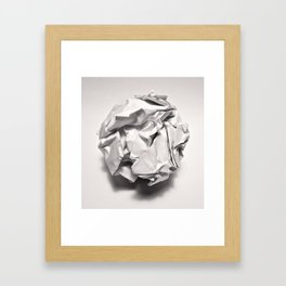 White Trash Framed Art Print
