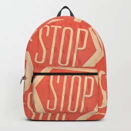 Stop Vintage Backpack
