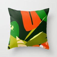 The Jungle 2 Throw Pillow