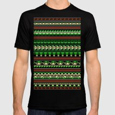 Tribality Andes Selva MEDIUM Black Mens Fitted Tee