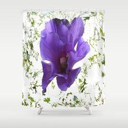 Hibiskus   (A7 B0072) Shower Curtain