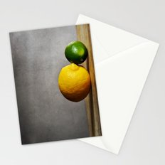 Lemon and Lime Stationery Cards