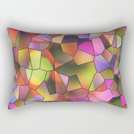 Stain Glass Rectangular Pillow