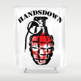 granade  Shower Curtain
