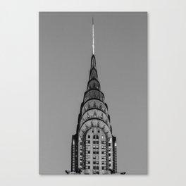 New York, Chrysler Building, William Van Alen Canvas Print
