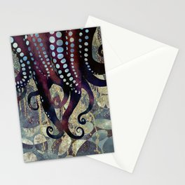 Metallic Ocean II Stationery Cards