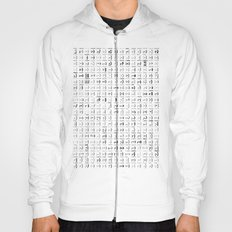 300 smileys| 300 fonts Hoody