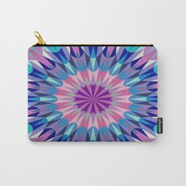 Lavender Retro Geometry #2 Carry-All Pouch