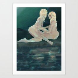 Horoscope: Gemini Art Print