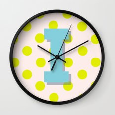 I is for Inspiration Wall Clock