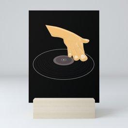 Dj Scratch Mini Art Print
