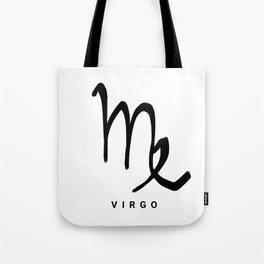 KIROVAIR ASTROLOGICAL SIGNS VIRGO #astrology #kirovair #symbol #minimalism #horoscope Tote Bag