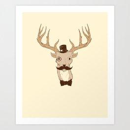 Young Buck Art Print