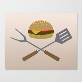 Jolly Burger Canvas Print