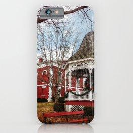 Iron County Courthouse and Gazebo iPhone Case