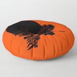 Agent Orange Floor Pillow