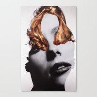 noir Canvas Prints featuring NOIR by Luca Mainini