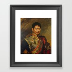 Jet Li - replaceface Framed Art Print