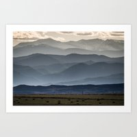 gradient Art Prints featuring Gradient by James Bowron