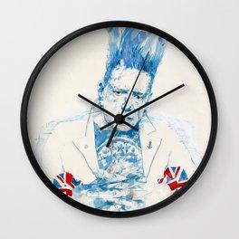Johnny Rotten Wall Clock