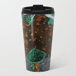Cherry Tree Geisha Invert Color Travel Mug