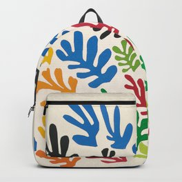 Leaf Cutouts by Henri Matisse (1953) Backpack