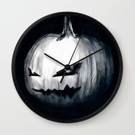 Keeping Up With Halloween Wall Clock