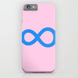 symbol of infinity 1 iPhone Case
