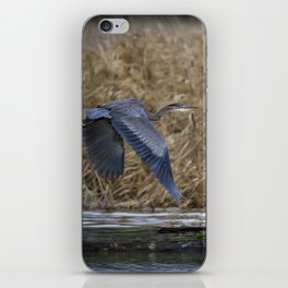 Flight of the Heron No. 2 iPhone Skin