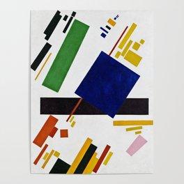 Kazimir Malevich - Suprematist composition Poster