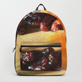 Apricots and cranberries Backpack